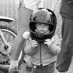 kid on motorcycle